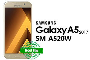 samsung a520w root