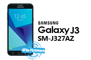 samsung j3 2017 j327az 4file firmware android 7.0 stock firmware