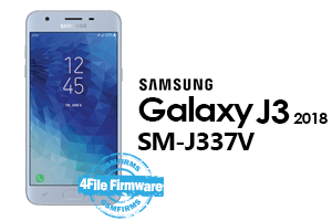 samsung j3 2018 j337v 4file firmware android 8.0 stock firmware