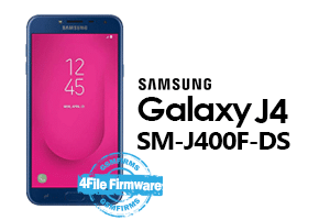 samsung j4 2018 j400f-ds 4file firmware android 8.0 stock firmware