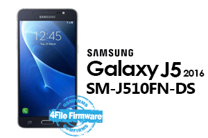 samsung j5 2016 j510fn-ds 4file firmware android 7.1.1 stock firmware