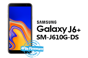 samsung j6 plus j610g-ds 4file firmware android 8.1 stock firmware