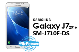 samsung j7 2016 j710f-ds 4file firmware android 8.1 stock firmware