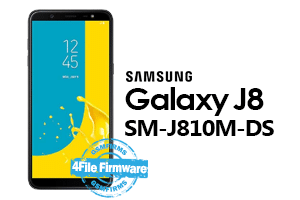 samsung j8 j810m-ds 4file firmware android 8.0 stock firmware
