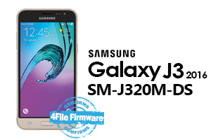 samsung j3 2016 j320m-ds 4file firmware android 5.1.1 stock firmware