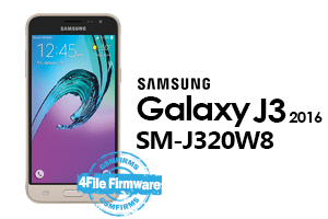 samsung j3 2016 j320w8 4file firmware android 7.1.1 stock firmware