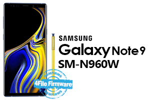 samsung note 9 sm-n960w stock firmware