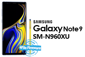 samsung note 9 sm-n960xu stock firmware