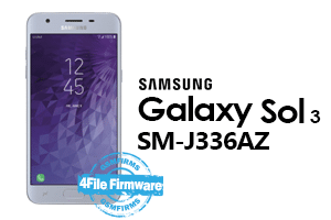 samsung sol3 j336az 4file firmware android 8.0 stock firmware