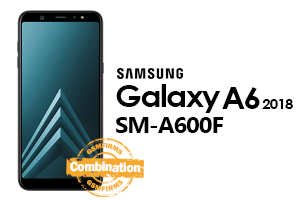 samsung A6 2018 a600f combination file download