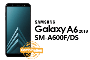 samsung a6 2018 a600f/ds combination file
