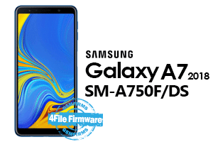samsung a7 2018 a750f/ds 4file firmware