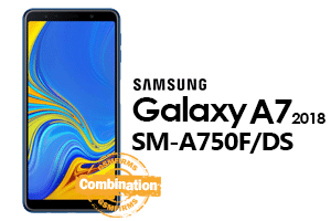 samsung a7 2018 a750f/ds combination file download