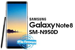 samsung note 8 n950d stock firmware