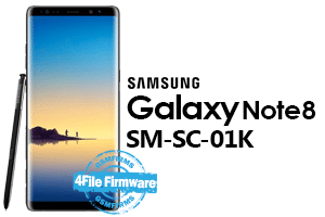 samsung note8 sc-01k 4file firmware