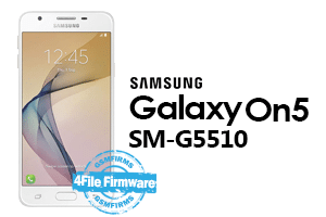 samsung On5 2016 g5510 4 file firmware