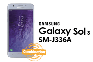 Samsung Galaxy Sol 3 (cricket) j336a combination file download