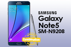 samsung note5 n9208 combination file download